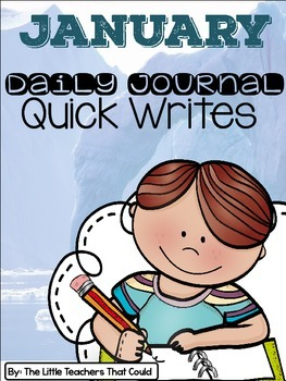 January Journal Quick Writes