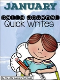 January Journal Quick Writes