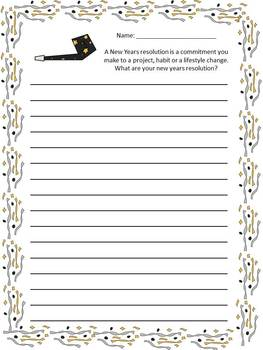 January Journal Story Starters and Journal Prompts