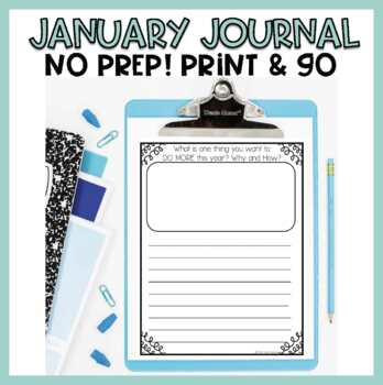 January Journal Writing Prompts