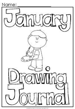 January Build a Sentence Journal for Young Writers