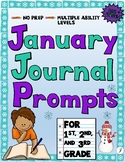 January Journals for Primary Students