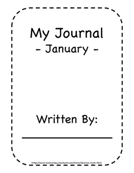 January-June Journal Pages