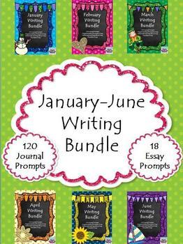 January-June Writing Bundles