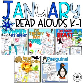 January K-1 Bundle: Interactive Read-Aloud Lesson Plans Curriculum