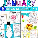 January K-1 Bundle: Interactive Read-Aloud Lesson Plans Cu