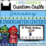 January Kindergarten Centers - Math