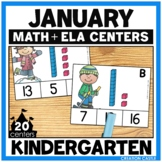 January Kindergarten Centers - Math and Literacy
