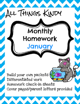 Kindergarten Homework January