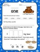 January Kindergarten Morning Work Packet for Literacy and Math