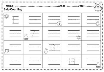 January Kindergarten No Prep Math