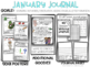 January Kindergarten Stretching Out Sounds + How Things Interact Writing Journal