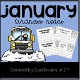 January Kindness Notes
