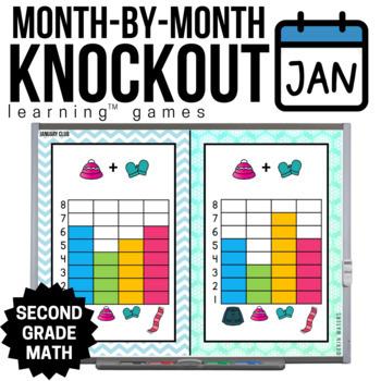 2nd Grade Math Game [January Knockout Club]