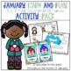 January Learn and Play Activity Pack-A 2-3 Year Old Standards Based Guide