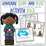 January Learn and Play Activity Pack-A 2-3 Year Old Standa