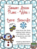 January Lesson Plan Series-Week 1 Winter