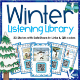 Winter Listening Center with SafeShare.tv Links and QR Codes