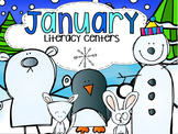 January Literacy Centers {CCSS}