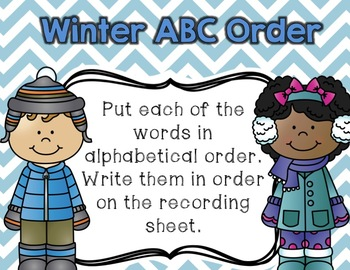 January Literacy Centers {Common Core Aligned for 2nd and 3rd Grade}