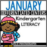 January Literacy Centers Kindergarten