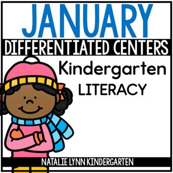 January Literacy Centers Kindergarten