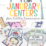 JANUARY LITERACY CENTERS AND MATH CENTERS