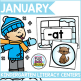 January Literacy Centers for Kindergarten