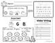 January Daily Literacy & Math Morning Work {Pre-K & Kinder