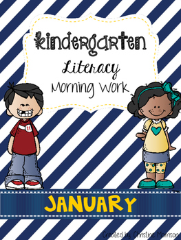 January Literacy Morning Work