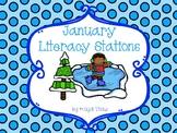 January Literacy Stations