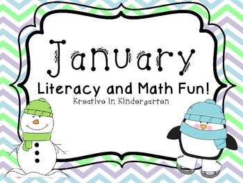 January- Literacy and Math Fun!