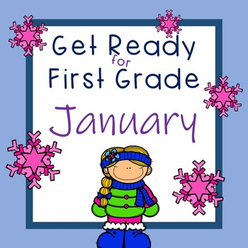 Ready for First Grade January Literacy and Math  Activities