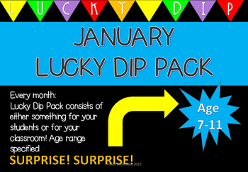January Lucky Dip Age 7-11