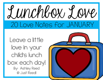 January Lunch Box Love Notes