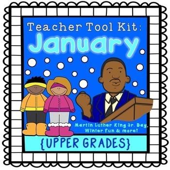 Winter activities, MLK Jr. Day {upper grades}
