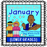 Winter activities, MLK Jr. Day {lower grades}