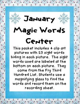 January Magic Words