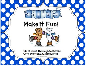 Winter Make it Fun!  Math and Literacy Activities