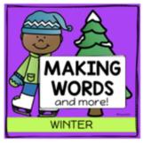 January Word Work Making Words