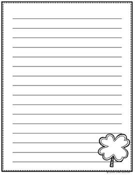 January-March Writing Paper BUNDLE