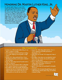 Black History Month / Martin Luther King Day / MLK Day Activities Grades 1-3