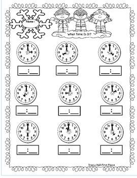 January Math Activities-No Prep Refreshers
