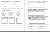 January Math Assessment