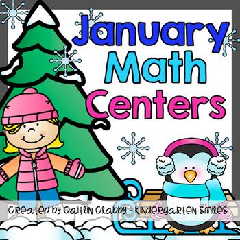 Math Centers: January