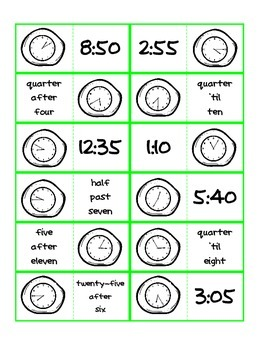 January Math Centers - Color and Ink-Saving B&W