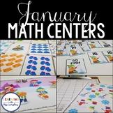 Kindergarten Math Centers January