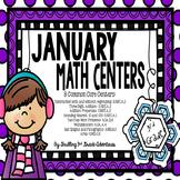 January Math Centers: 3rd Grade