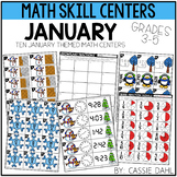 January Math Centers (Grades 3-5)