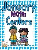 January Math Centers -Kindergarten